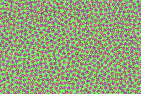 Geometric field based on blossoming tripleurospermum. Liking design.