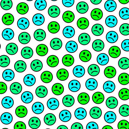 Interaction backdrop. Party pattern. Company based on comic moods.