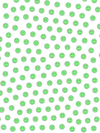 System backdrop. Creative pattern. Throng containing smart moods.
