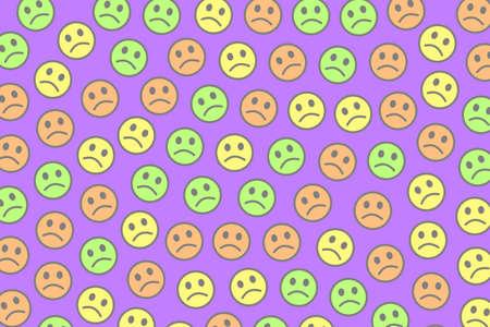 Net design. Beautiful template. Intercommunion with comic emotions.