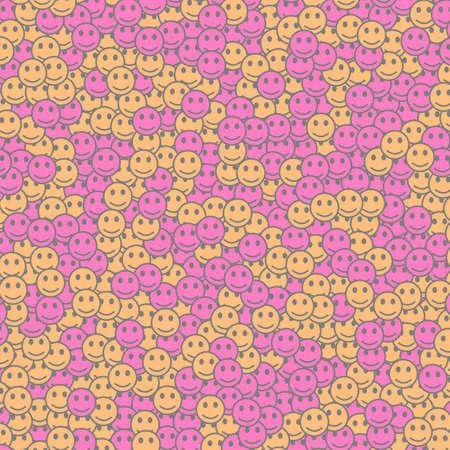 Communication illustration. Beautiful pattern. Gang including random moods.