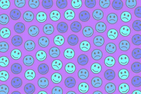 Life illustration. High definition pattern. Company based on random emotions.