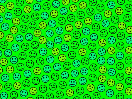 Society design. Abstract backdrounds. Institute comprising amusing smileys.