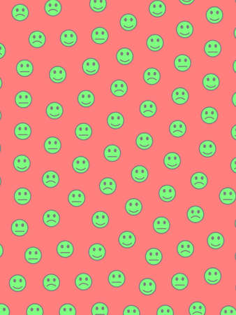 Messenger illustration. Party template. Mob including random shapes. Imagens