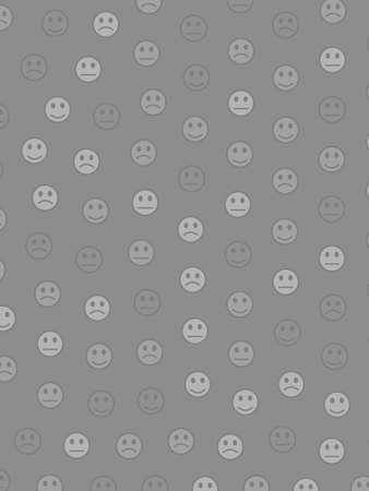 Life illustration. Party pattern. Company comprising random spirits.