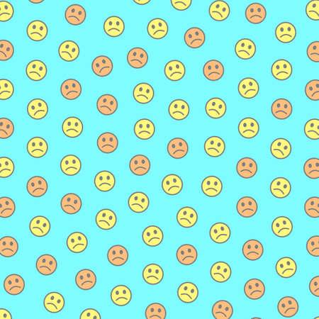 People concept. Creative pattern. Institute including random feelings.