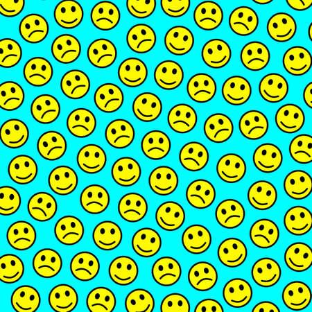 Party illustration. Chaotic pattern. World based on random feelings.