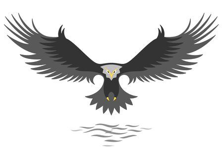 Modern simple eagle   design