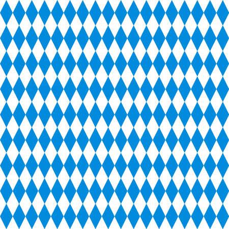 traditional bavarian rhombuses Ilustração