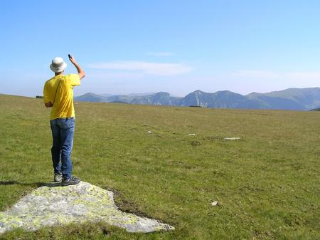 wilding: Retezat mountains in Romania - looking for bleep