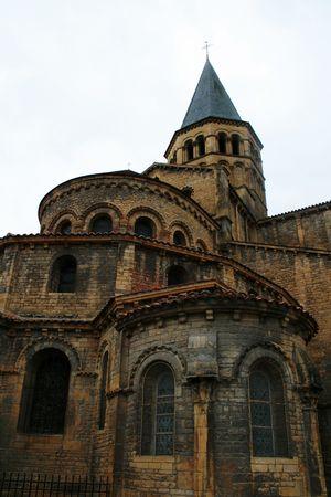 French church from bricks