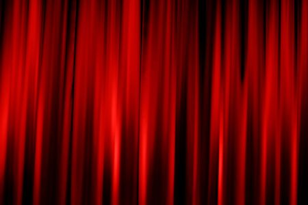 Abstract red background of cinema valance
