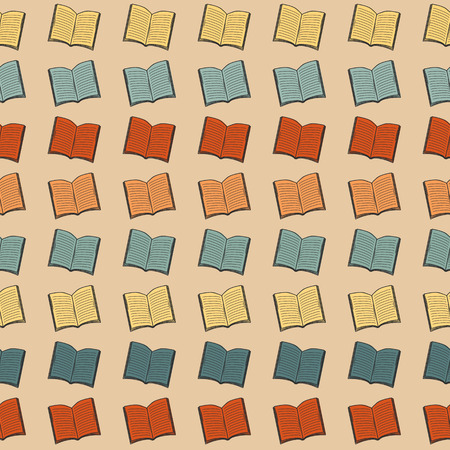 patternbackground: Color abstract book pattern.Background. Vintage.Wallpaper.Hipster