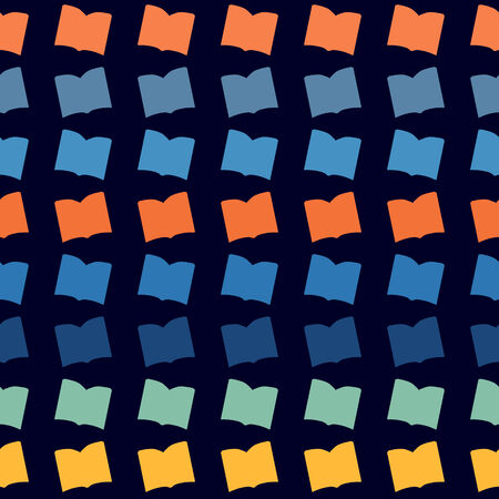 patternbackground: Color abstract book pattern.Background.  Illustration