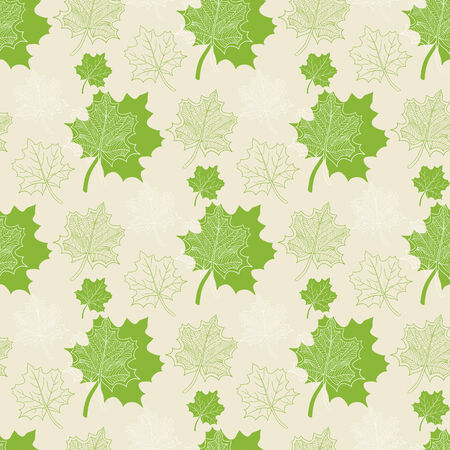 defoliation: Seamless pattern with green leaf:abstract leaf,leaf fall,defoliation,au tumn leaves ,falling leaves