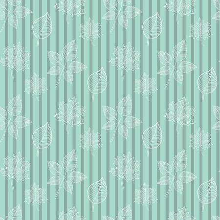 hojas de oto�o cayendo: Modelo incons�til del resorte hoja .White: hoja resumen, la ca�da de hojas, defoliaci�n, hojas de oto�o, las hojas que caen, verde Vectores