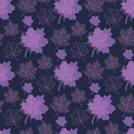 hojas de oto�o cayendo: Patr�n de oto�o transparente: extracto de la hoja de color p�rpura y rosa, ca�da de las hojas, defoliaci�n, hojas de oto�o, las hojas que caen