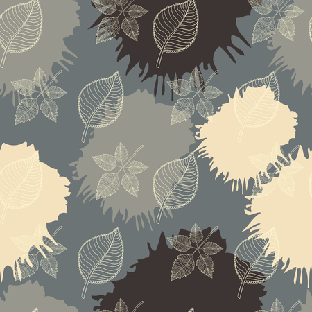 defoliation: Autumn seamless pattern abstract leaf,leaf fall,defoliation,autumn leaves ,falling leaves
