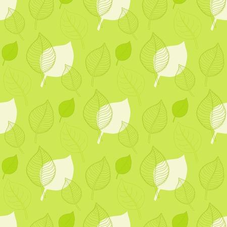 hojas de oto�o cayendo: Patr�n de oto�o transparente, extracto de la hoja verde, ca�da de las hojas, defoliaci�n, hojas de oto�o, las hojas que caen Vectores