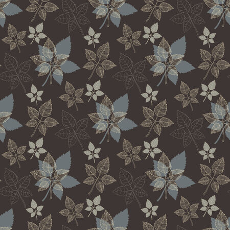 defoliation: Seamless spring pattern .Grey leaf,abstract leaf,leaf fall,defoliation,autumn leaves ,falling leaves