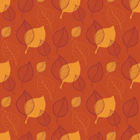 hojas de oto�o cayendo: Patr�n de oto�o transparente, hojas de naranja abstractos, ca�da de hojas, defoliaci�n, hojas de oto�o, las hojas que caen