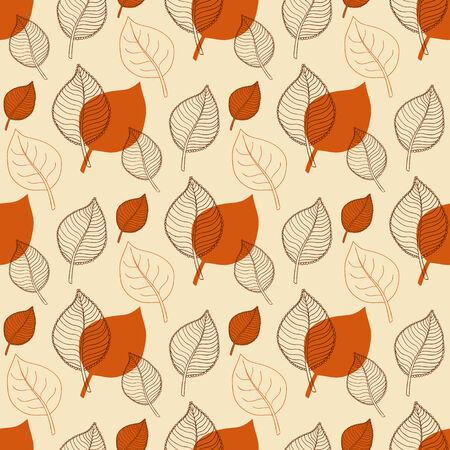 hojas de oto�o cayendo: Patr�n de oto�o transparente, hoja resumen de naranja, ca�da de las hojas, defoliaci�n, hojas de oto�o, las hojas que caen