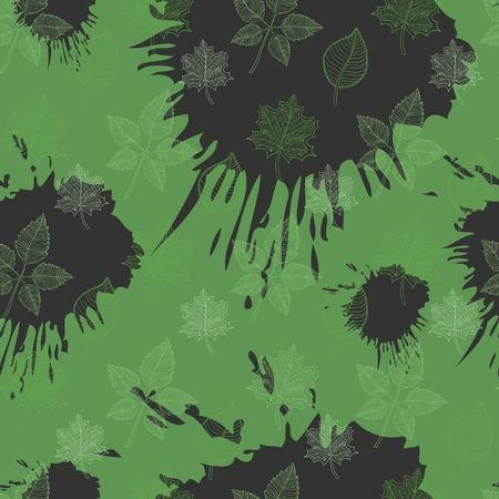 hojas de oto�o cayendo: Patr�n de oto�o transparente con extracto de la hoja, ca�da de hojas, defoliaci�n, hojas de oto�o, las hojas que caen