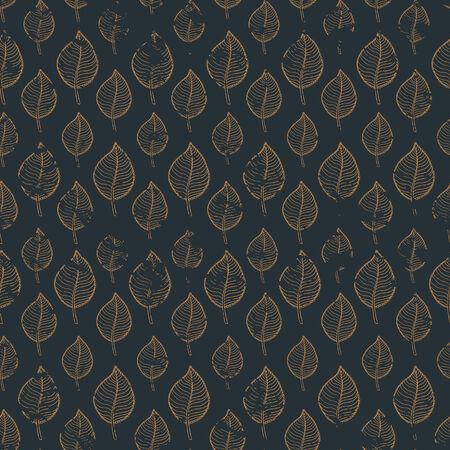 hojas de oto�o cayendo: Patr�n de oto�o de grunge transparente con pan de oro sobre una hoja de oro background.abstract oscuro, ca�da de hojas, defoliaci�n, hojas de oto�o, las hojas que caen