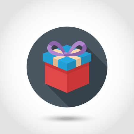 white boxes: Colorful Vector Gift box
