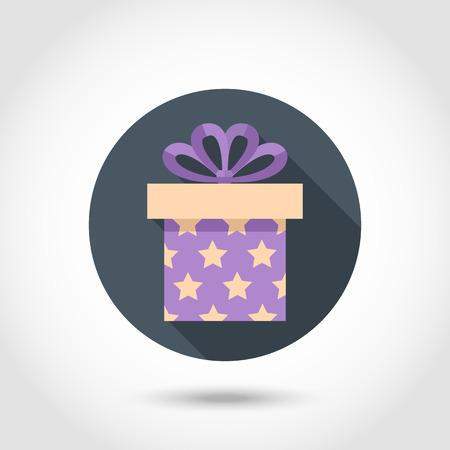 giftware: Flat Vector Gift box Illustration