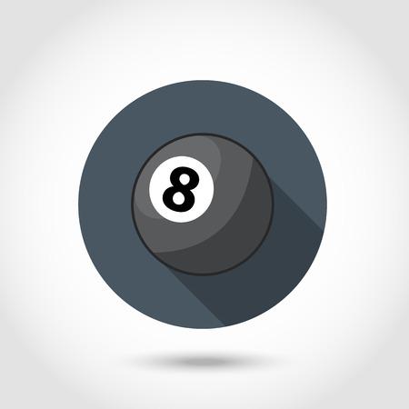9 ball billiards: Billiard ball icons