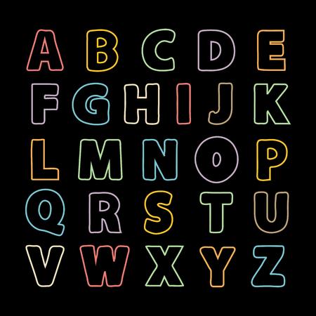 Alphabet thin line .Alphabet vector .Vector alphabet.Vector Alphabet isolated.Vector Alphabet flat style.Vector purple Color Alphabet.Vector font isolated .Vector Type.Hand drawn