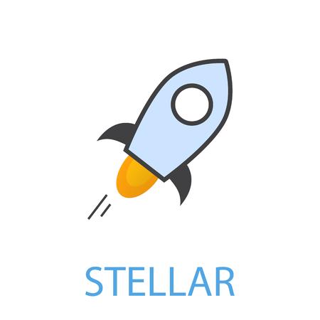 Stellar symbol illustration