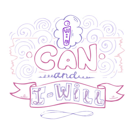 I can and I will- inspiring,motivation quote