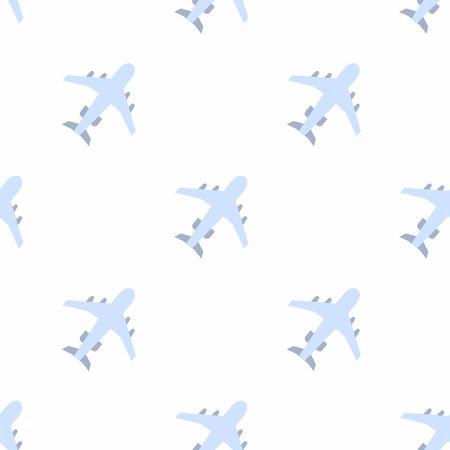 Plane icon pattern Иллюстрация