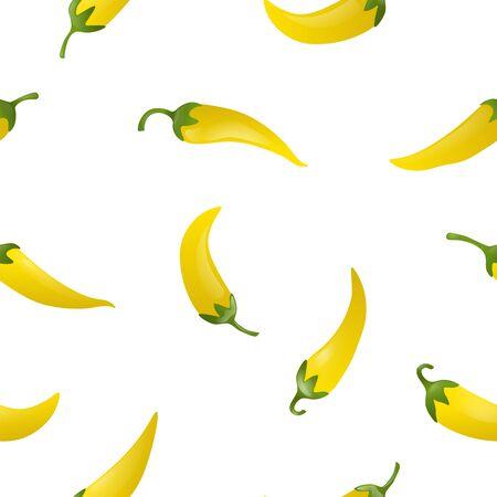 Pepper seamless pattern