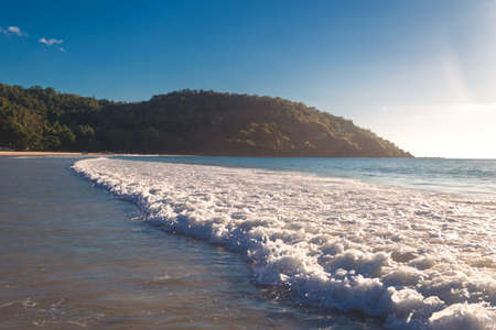 Seascape photo taken in Nagtabon beach, Palawan, Philippines