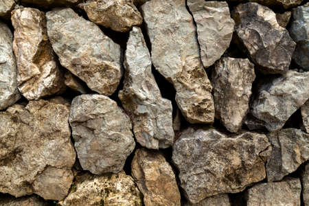 Texture of stones and rocks made wallpaper