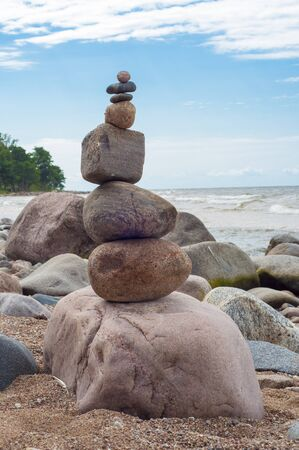 Rock Balancing Art Stock Photo Picture And Royalty Free Image