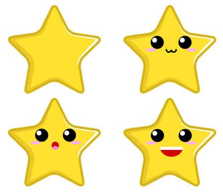 Star Character 矢量图像