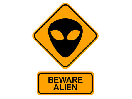 space invaders: Alien Sign