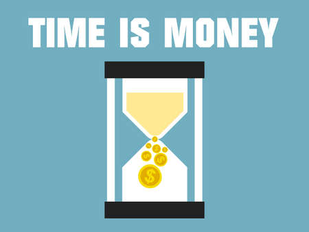 dollar sign icon: Time is Money