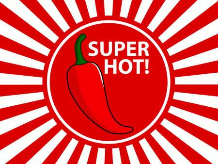 chili pepper: Chili Sunburst