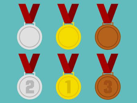 flat: Flat Medals