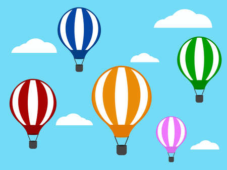 flying float: Air Balloon