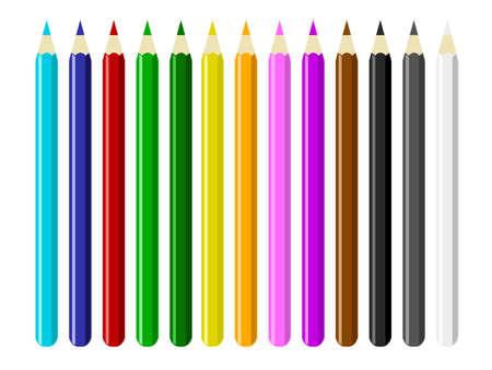 colored: Colored Pencils Illustration