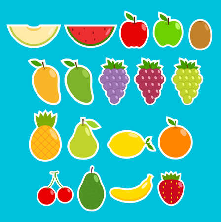 flawless: Fruit Sticker Collection