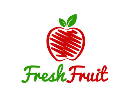 Fruit Logo Stock fotó - 53859207