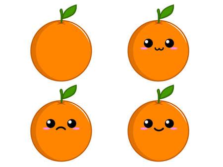 オレンジ文字