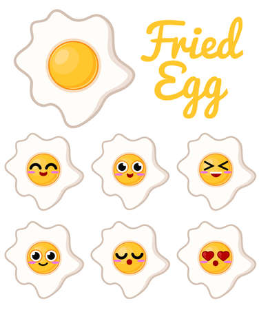 fried egg: Fried Egg Character